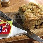 Tasty scone.