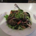 Spicy beef salad, my favorite here