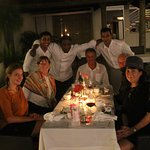 A Fantastic night at Malabar House Restaurant. The staff where great here we are after dinner