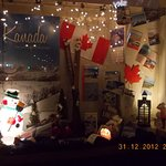 Christmas season atmosphere in a store some minutes of walk from Hansa Hotel