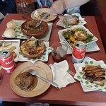 Deliciosa comida típica