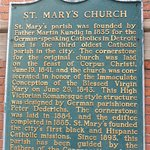St Mary's Church History Board