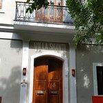 Entrance to Villa Shanti