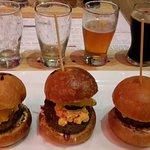 Minibürgers und Bierselektion