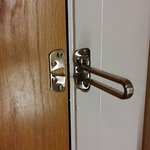 Door has been forced open!