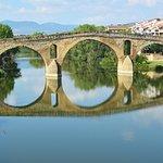 Beautiful  11C Romanesque bridge Puente La Reina