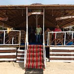 Some recent picture by visitors to Sam's Beach Shack, Mobor Beach, Cavelossim, Salcete, Goa.
