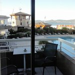 chambre 101 vue mer et piscine
