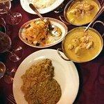 Le Delhi, les plats