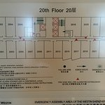 Floor plan.  2023 large suite.  2018 junior suite. medium suite is about 2023 without the upper