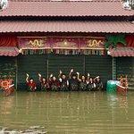 Water puppet show at Thao Dien Village Foto
