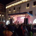 Hauptplatz vor dem Hotel