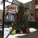 Sinbad's Mediterranean cuisine - sign out front