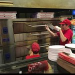Downtown House Of Pizza - Pizza Guys Workin' The Ovens