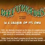 Beef O Bradys Family Sports Pubs