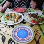 Hauptgerichte - Zwei Fischgerichte