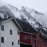 In Juneau you are always close to the mountains.