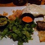 Bistek Suizo. Pic taken after I started eating, sorry.