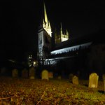 Llandaff Cathedral and graveyard
