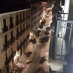 Vista de la calle desde el hotel