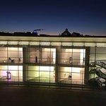 Blick vom Hotelzimmer aus auf das Kunstmuseum