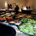 Dinner Buffet early in eve
