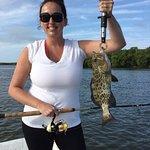 First grouper caught!