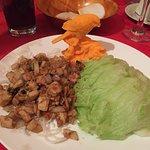 Chicken Lettuce Wrap starter