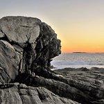 geology at sunset