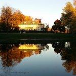Belvedere Inn at Sunset over the pond-Nov. 2016