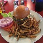Uninspired Cheeseburger