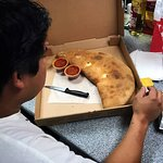 The Delicious Calzone that we fell in love with!