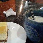 Durian Cofee and Durian crema cheesecake