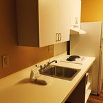 KItchenette, no dishes