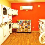 Pay laundry on first floor