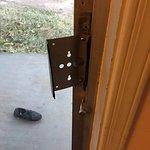 Handle to sliding door? It wouldn't open