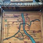 The map of Ma ling he da xiagu