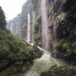 Over 300 waterfalls inside the Ma ling he da xiagu