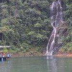 Sungai Lansir Waterfall