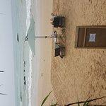 Sunset Hotel Mirissa; goed hotel direct aan het strand!