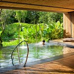 Aromatherapy steam rooms, Outdoor vitality pools and terrace Saunas Relaxation rooms.