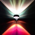 Astonishing lighting in the stairwell!