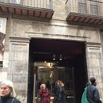 Entrance to the Goya Museum