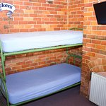 Our backpacker dorm rooms are available in many configurations - from 3 to 10 beds