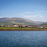 The Dingle Skellig Hotel sits on the waters edge.