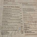 Sharing boards and main menu