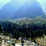 Aerial View of Kinner Camps, Sangla
