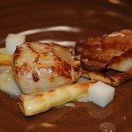 Skye Scallops & parsnips