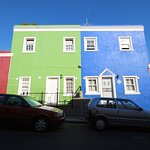 colourful houses nearby