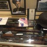 WW2 German Helmet and rifles......